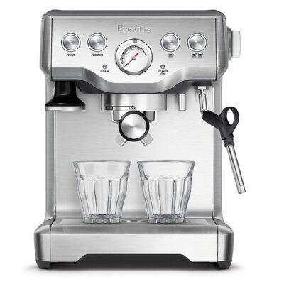 Infuser Espresso Machine Color: Silver