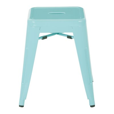 "Buhl 18"" Bar Stool Color: Mint"