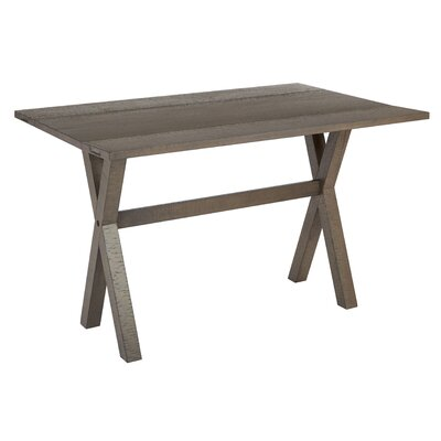 Meilani Flip Top Console Table Color: Distressed Washed Gray