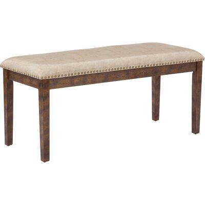 Didmarton Bench Upholstery: Cream/Antique Bronze