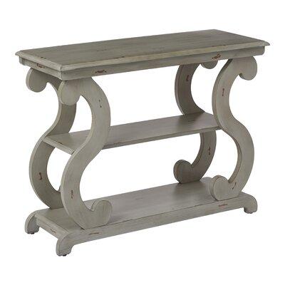Braeden Console Table Color: Antique Gray