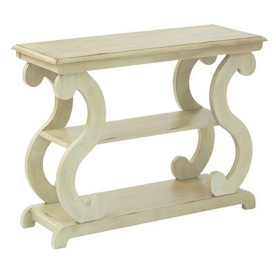 Braeden Console Table Color: Antique Celedon