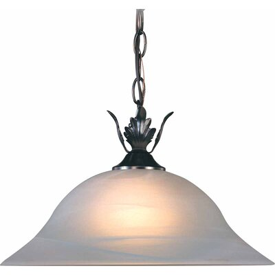 Emington 1-Light Cone Pendant Finish: Antique Bronze