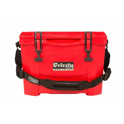 15 Qt. Rotomolded Cooler Color: Red