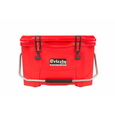 20 Qt. RotoMolded Cooler Color: Red