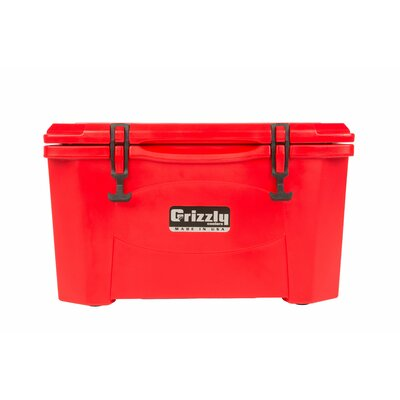 40 Qt. RotoMolded Cooler Color: Red