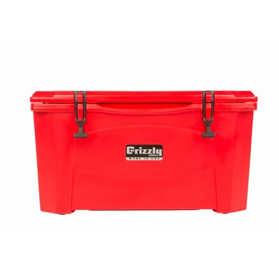60 Qt. RotoMolded Cooler Color: Red