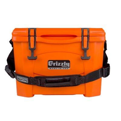 15 Qt. Rotomolded Cooler Color: Orange