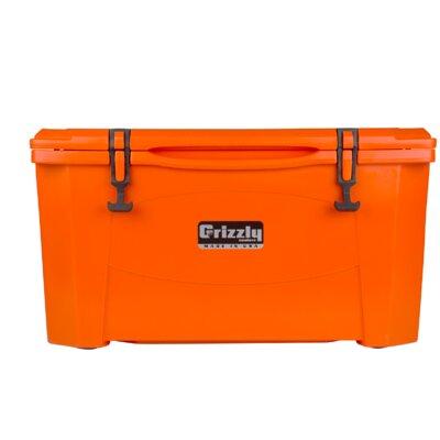 60 Qt. RotoMolded Cooler Color: Orange