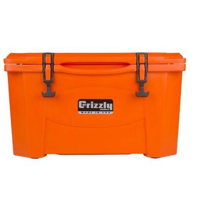40 Qt. RotoMolded Cooler Color: Orange