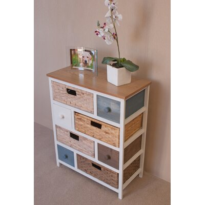 Firmans Direct Camber Milena 8 Drawer Chest