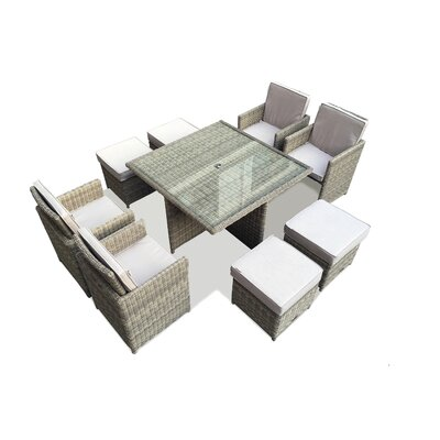 Firmans Direct Essence 4 Seater Dining Set