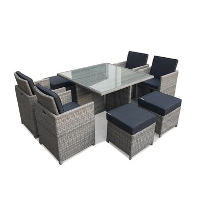 Firmans Direct Ira 4 Seater Dining Set
