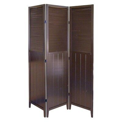 "ORE Furniture 70"" x 51"" 3 Panel Room Divider"