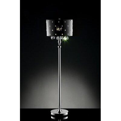 "ORE Furniture Star Crystal 36"" Floor Lamp"