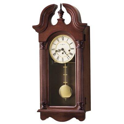 Howard Miller® Chiming Key-Wound David Wall Clock
