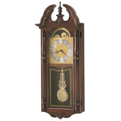 Howard Miller® Chiming Quartz Rowland Wall Clock