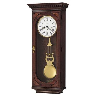 Howard Miller® Chiming Key-Wound Lewis Wall Clock