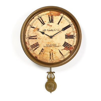 """Howard Miller® Moment In Time J.H. Gould and Co. III 15"""" Wall Clock"""