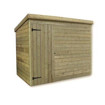 Empire Sheds Ltd 7 x 7 Wooden Lean-To Shed