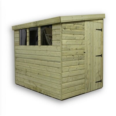 Empire Sheds Ltd 8 x 7 Wooden Lean-To Shed