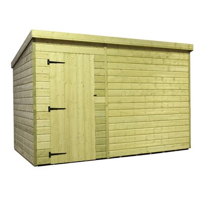 Empire Sheds Ltd 9 x 6 Wooden Lean-To Shed