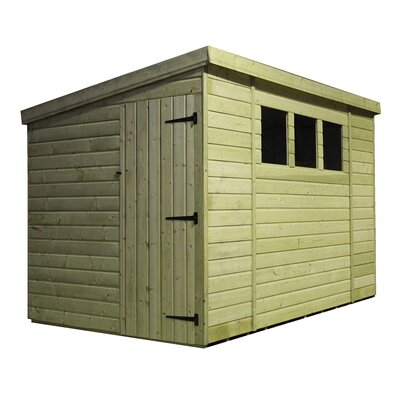 Empire Sheds Ltd 10 x 6 Wooden Lean-To Shed