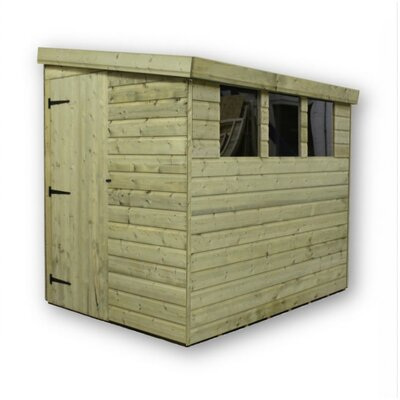 Empire Sheds Ltd 7 x 4 Wooden Lean-To Shed