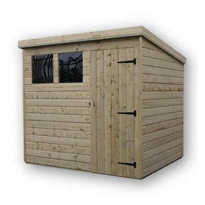 Empire Sheds Ltd 7 x 6 Wooden Lean-To Shed