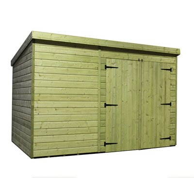 Empire Sheds Ltd 14 x 3 Wooden Lean-To Shed