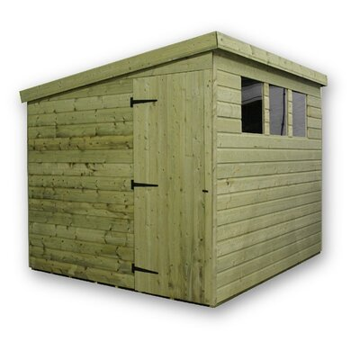 Empire Sheds Ltd 6 x 6 Wooden Lean-To Shed