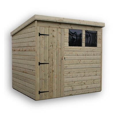 Empire Sheds Ltd 8 x 8 Wooden Lean-To Shed