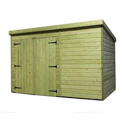 Empire Sheds Ltd 12 x 6 Wooden Lean-To Shed