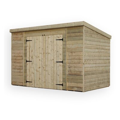 Empire Sheds Ltd 12 x 7 Wooden Lean-To Shed
