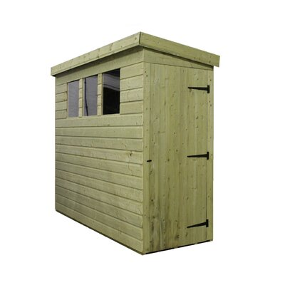 Empire Sheds Ltd 8 x 3 Wooden Lean-To Shed