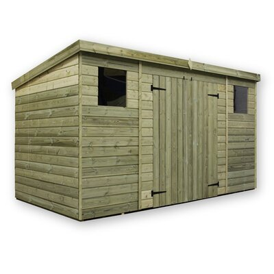 Empire Sheds Ltd 14 x 4 Wooden Lean-To Shed