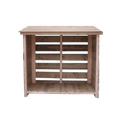 Empire Sheds Ltd 4 Ft. W x 2 Ft. D Wooden Log Store