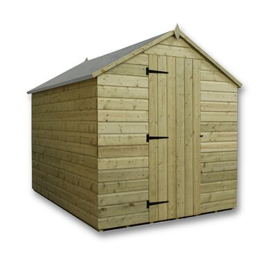 Empire Sheds Ltd 4 x 7 Wooden Storage Shed