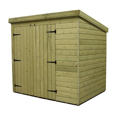 Empire Sheds Ltd 6 x 4 Wooden Lean-To Shed