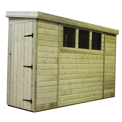 Empire Sheds Ltd 12 Ft. W x 4 Ft. D Wooden Lean-To Shed
