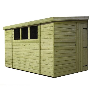 Empire Sheds Ltd 3 x 12 Wooden Lean-To Shed
