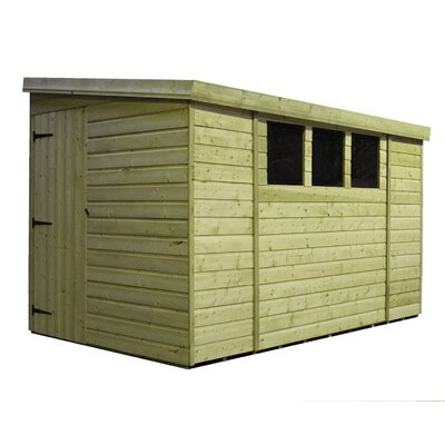 Empire Sheds Ltd 14 x 5 Wooden Lean-To Shed