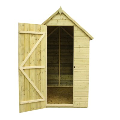 Empire Sheds Ltd 4 x 4 Wooden Storage Shed