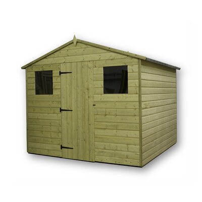 Empire Sheds Ltd 8 x 9 Wooden Storage Shed