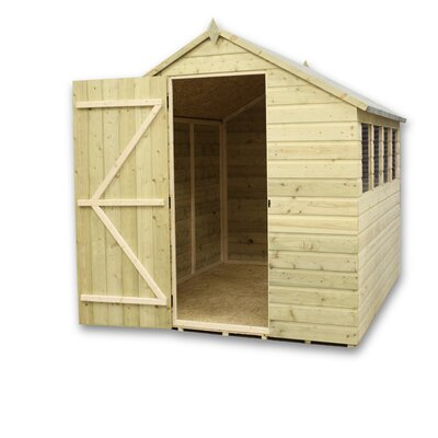 Empire Sheds Ltd 4 x 10 Wooden Storage Shed