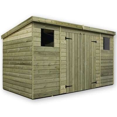 Empire Sheds Ltd 12 x 3 Wooden Lean-To Shed
