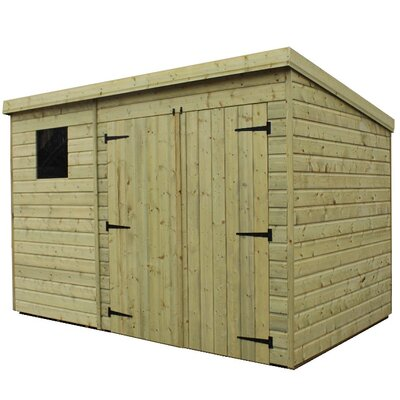 Empire Sheds Ltd 10 x 8 Wooden Lean-To Shed