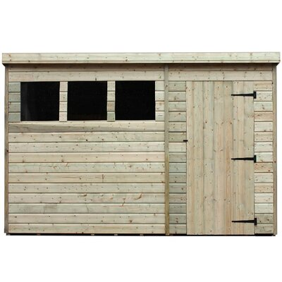 Empire Sheds Ltd 10 x 3 Wooden Lean-To Shed