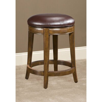Trevor Swivel Bar Stool Seat Height: 24''
