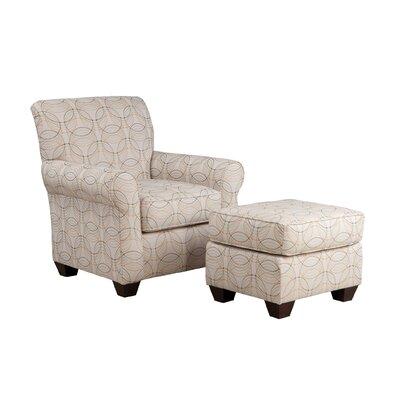 Accent Armchair Body Fabric: Dumdum Charcoal